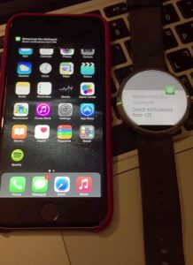 iphone android wear