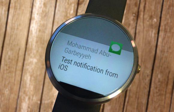 Ontwikkelaar krijgt iPhone-notificaties voor Android Wear aan de praat