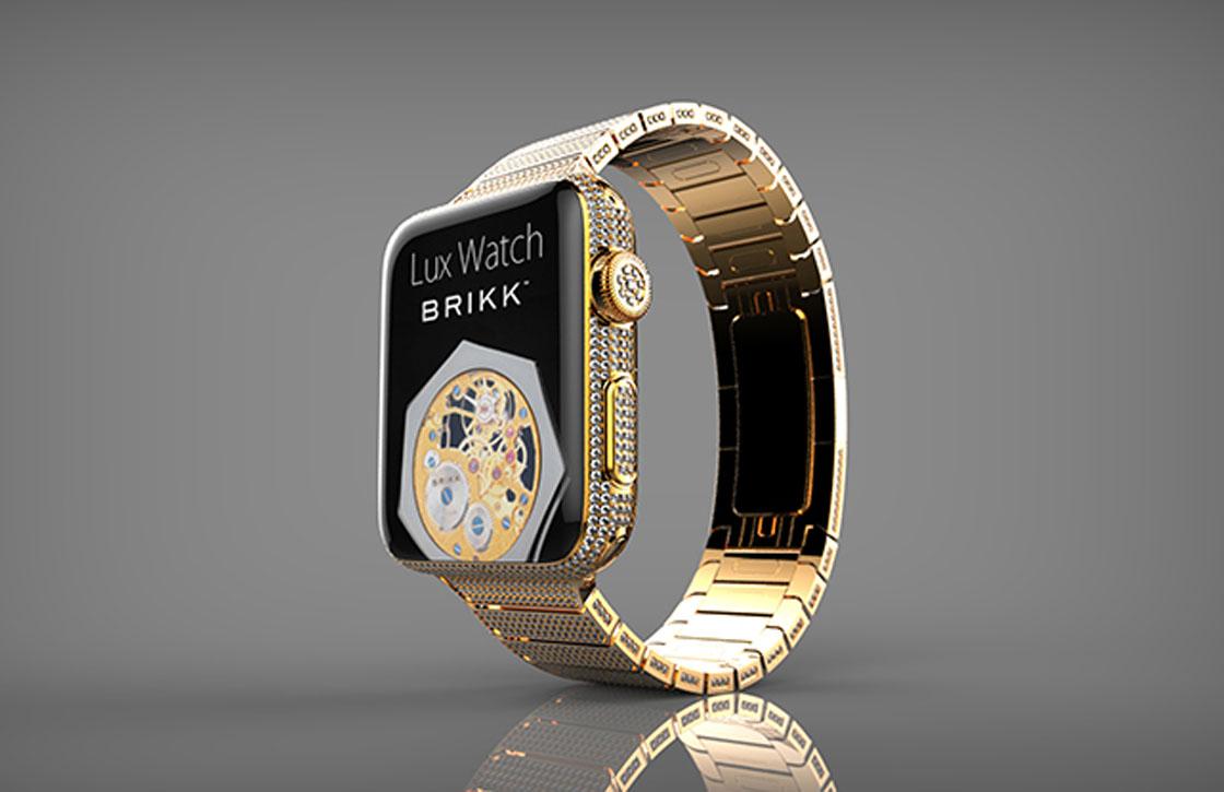 Deze luxe Apple Watch heeft diamantjes en kost 75.000 dollar