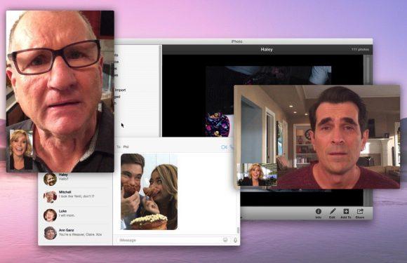 Zo werd een complete aflevering van Modern Family opgenomen met iPhones
