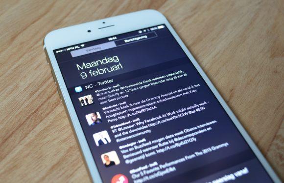 Handige iPhone-app voegt Twitter-widget toe aan Berichtencentrum