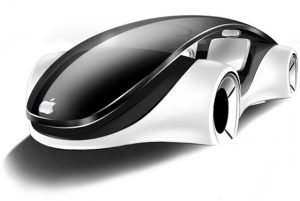 'Apple's autonome auto kan zelfstandig sturen, gas geven en remmen'