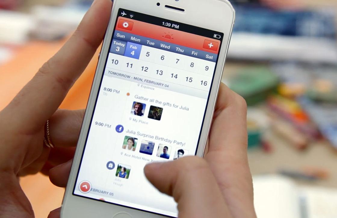 Outlook-update slokt agenda-app Sunrise op