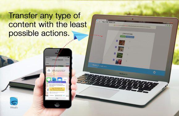 Deel je bestanden via handige iOS-extensie Weafo