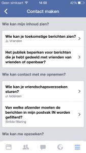 facebook berichten