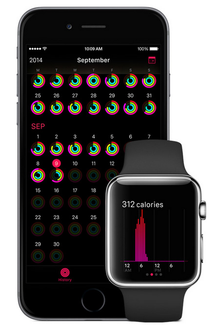 apple watch activiteit-app