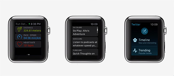 apple watch-apps preview