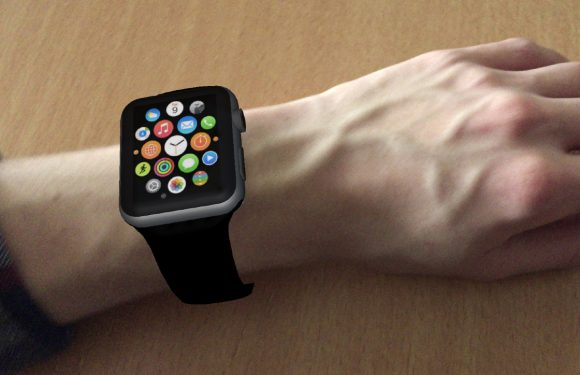 Probeer de Apple Watch met augmented reality om je pols