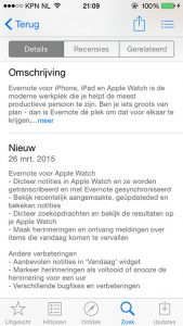 Apple Watch-ondersteuning