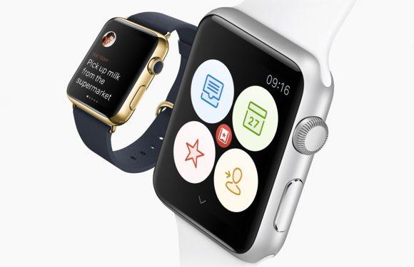 Zo ziet Wunderlist eruit op de Apple Watch