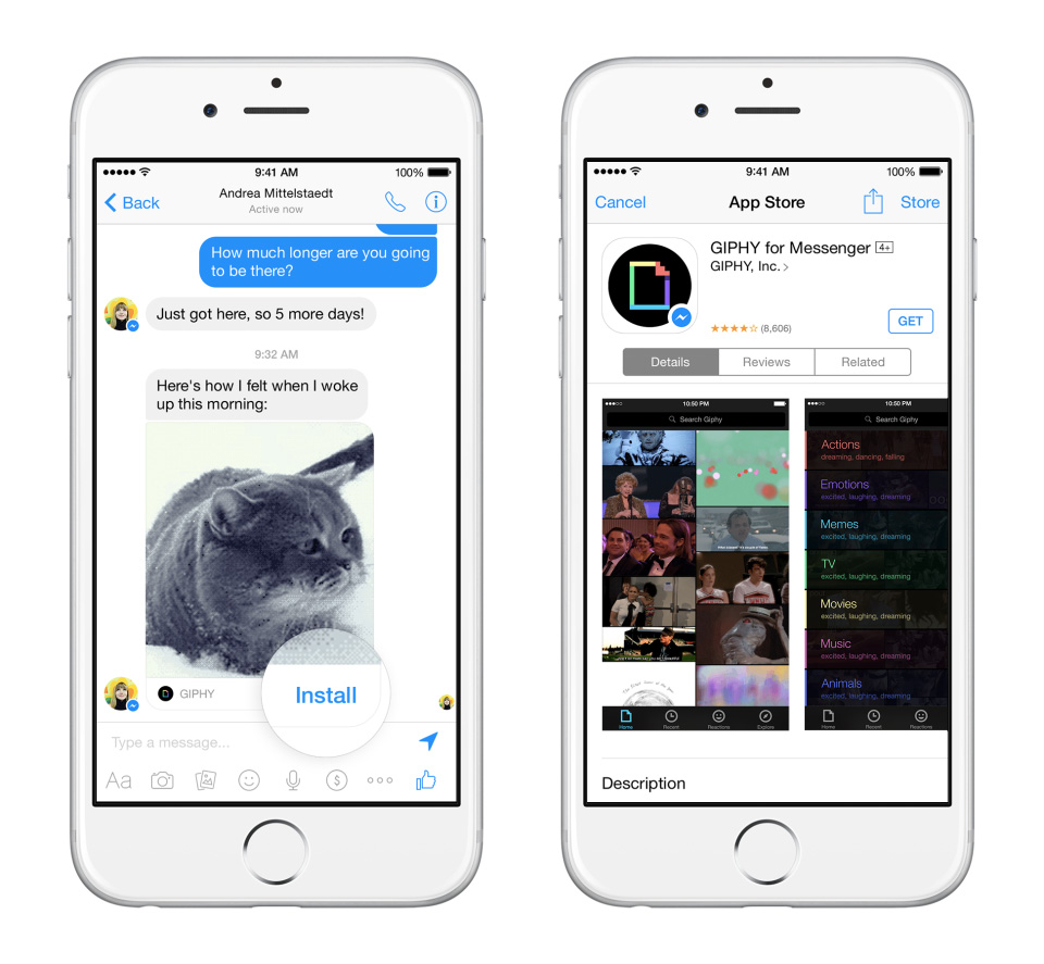 facebook messenger giphy