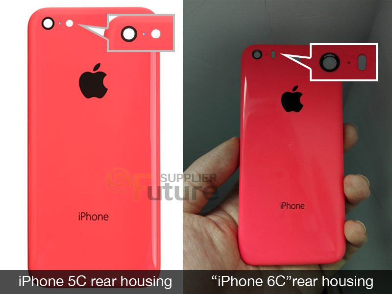iPhone 6C behuizing