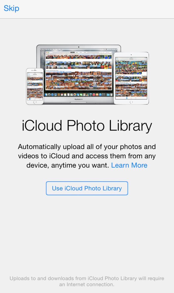 icloud fotobibliotheek