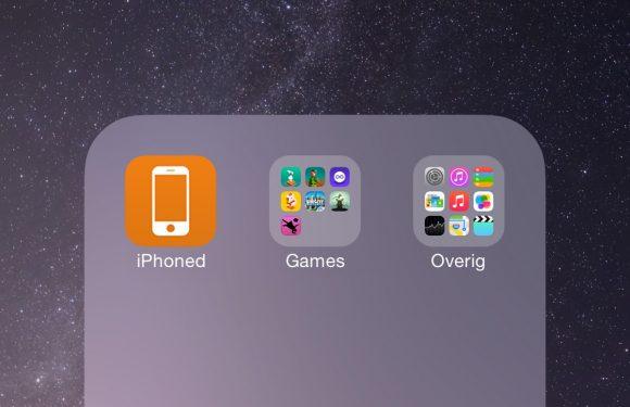 Met deze geheime iOS-functie plaats je mappen in mappen