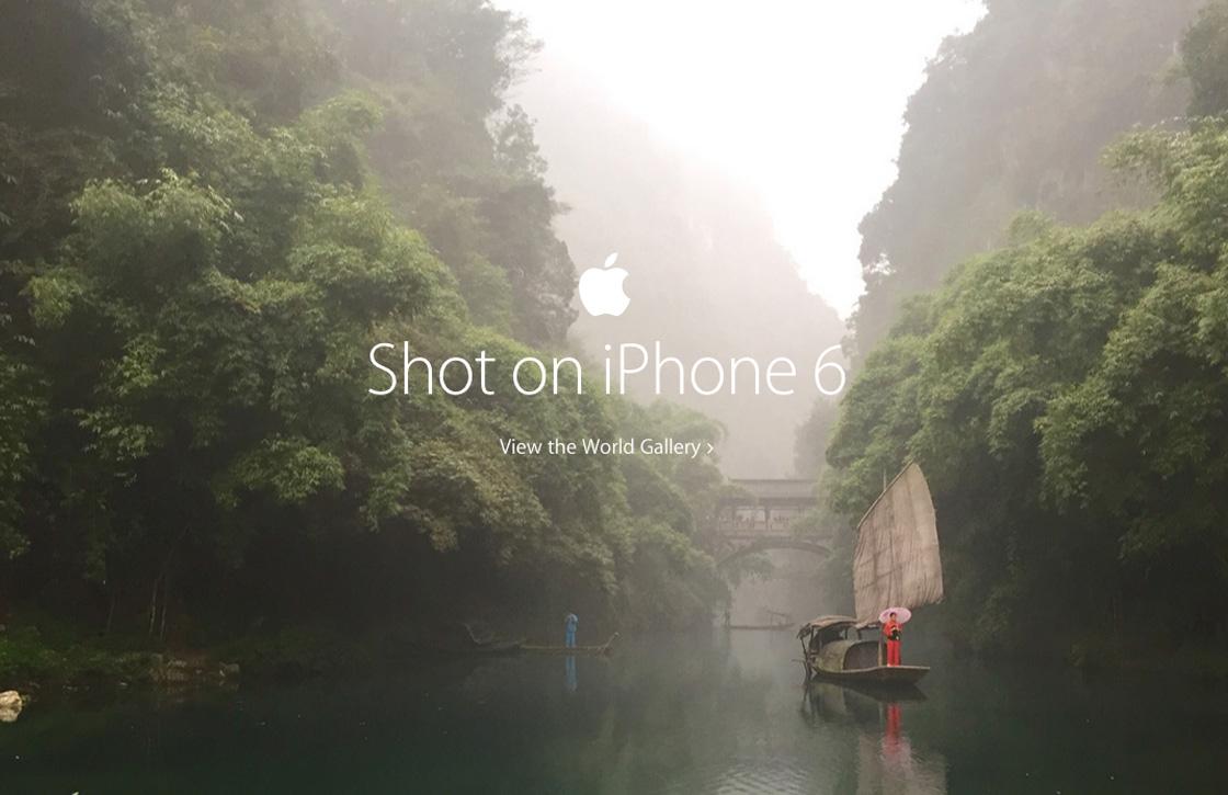 Apple gebruikt prachtfoto's van gebruikers voor nieuwe advertentie