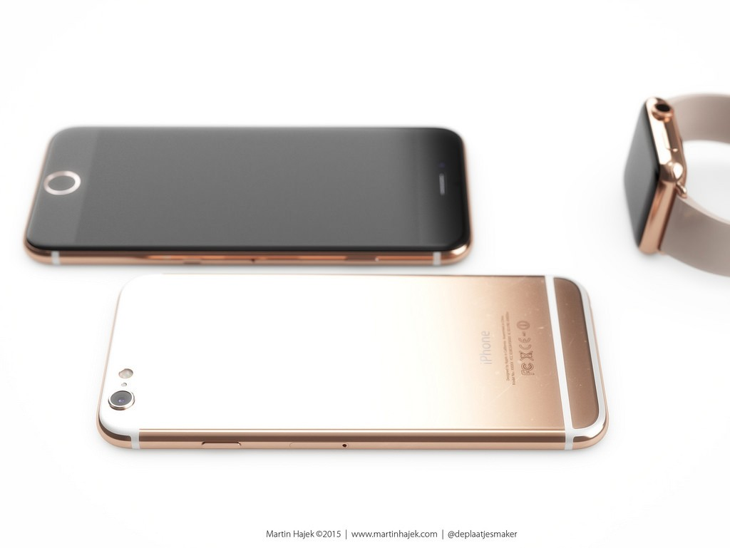 rose gouden iphone 6s
