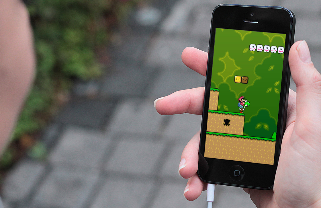 Super Mario speel je straks op de iPhone en iPad