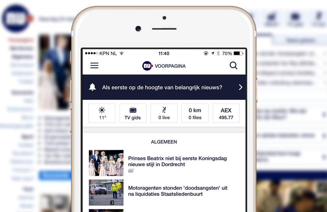 3 vernieuwingen in de Nu.nl-app update