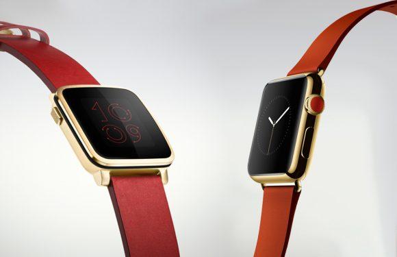 Die nieuwe gouden Pebble Time Steel komt bekend voor