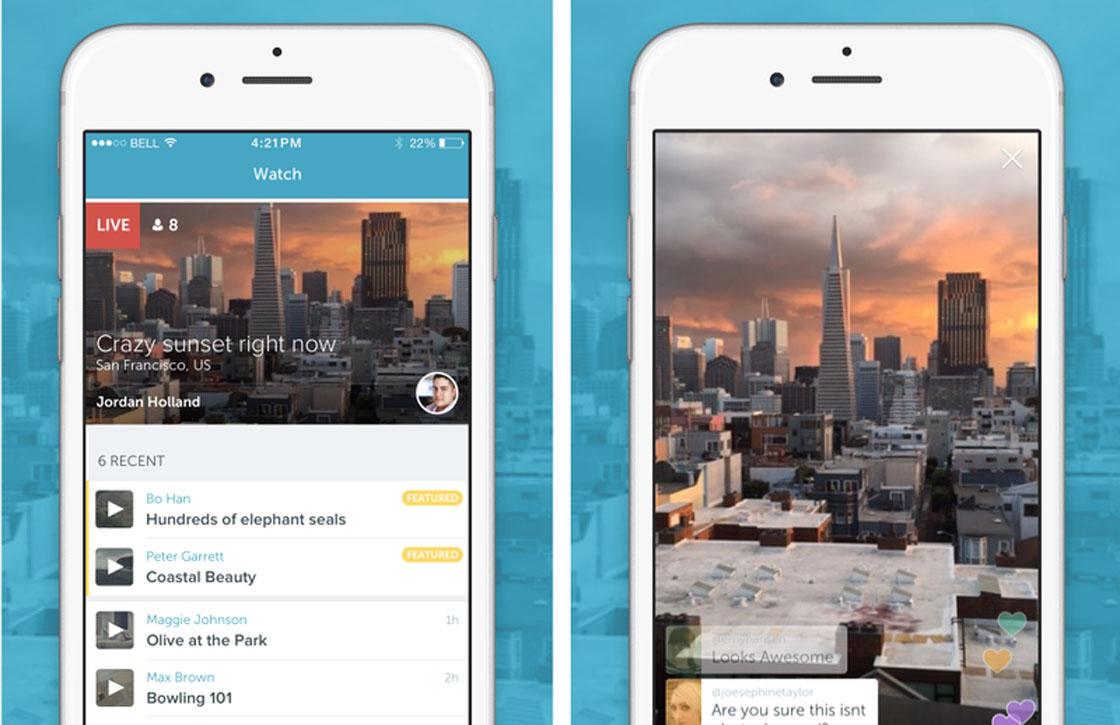 Livestream-app Periscope nu ook zonder Twitter te gebruiken