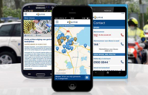 Politie-app test locatie-specifieke pushberichten