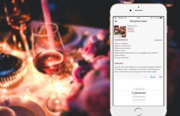 3 handige vernieuwingen in de Receptenmaker-app