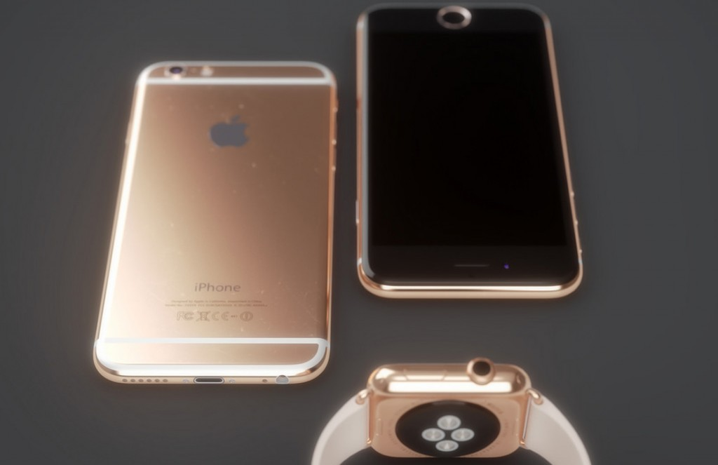 rose gouden iphone 6s release