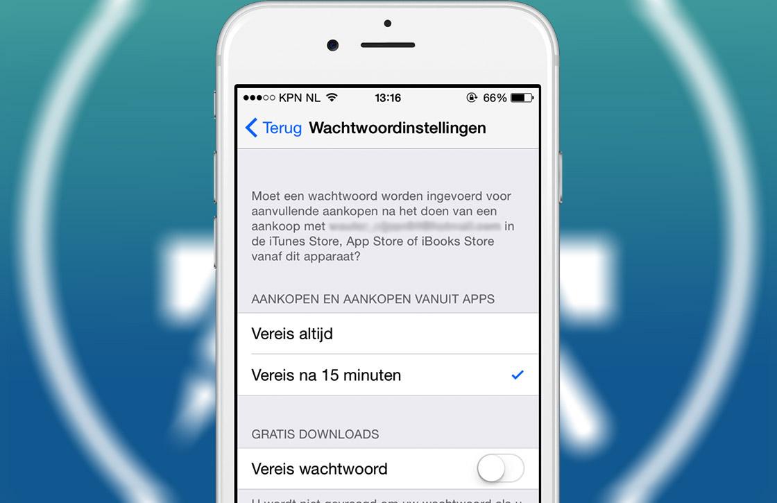 In 3 stappen gratis apps downloaden zonder wachtwoord