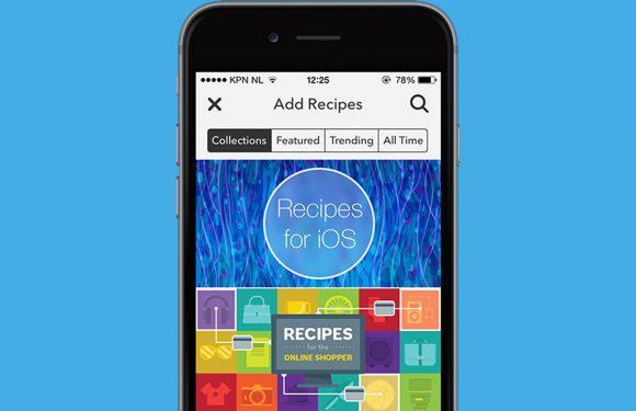 In 3 stappen iOS-functies automatiseren met IF by IFTTT