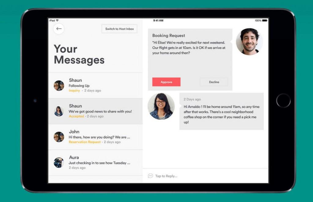airbnb-app ipad