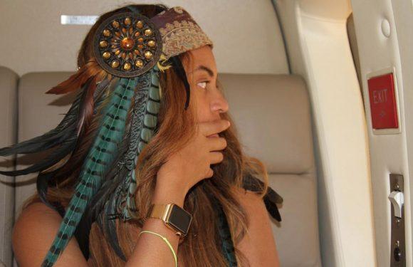 Beyoncé draagt haar dure Apple Watch 'verkeerd om'
