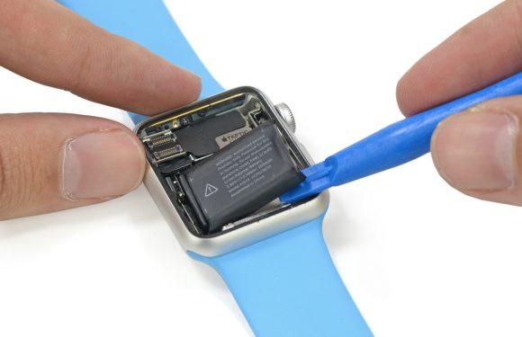 Foto's: Dit is de Apple Watch aan de binnenkant