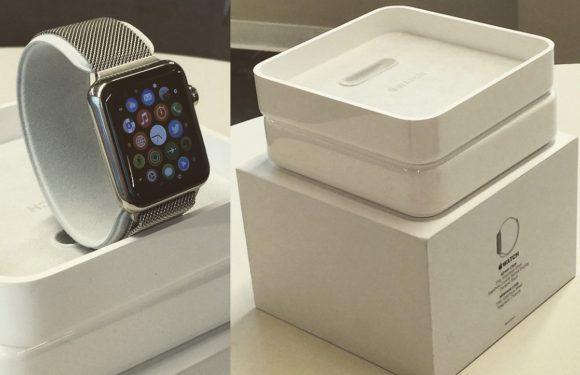'Uitgelekte foto's tonen verpakking Apple Watch'