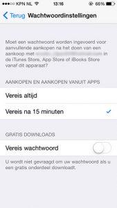 apps downloaden zonder wachtwoord