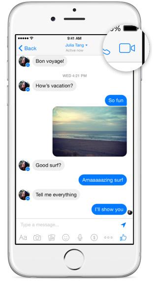 facebook videobellen