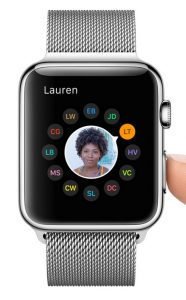 favorieten apple watch