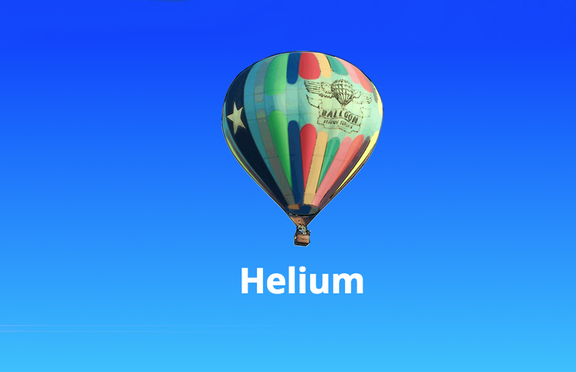 Mac-app Helium laat video's boven vensters zweven