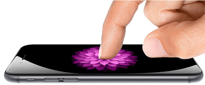 force touch op de iphone 6s