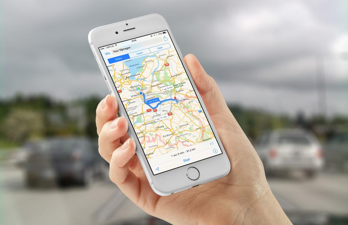 'Apple werkt aan Apple Kaarten spoorwegovergangen'