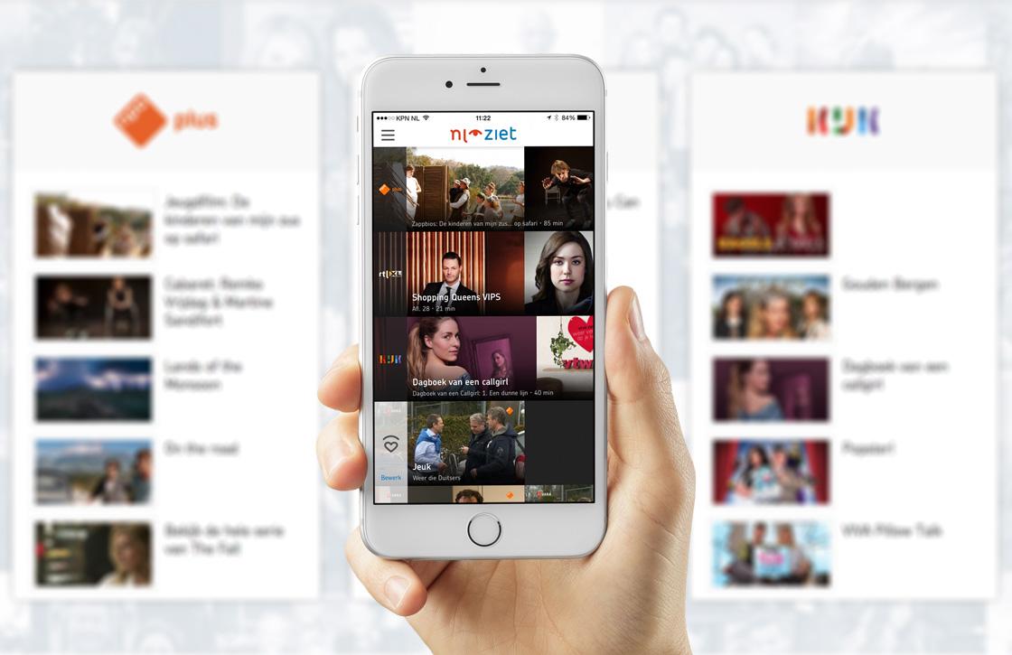 NLziet-app voor iOS krijgt fraai nieuw design