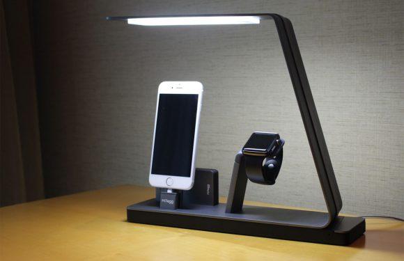 Fraai Apple Watch dock hit op crowdfundingwebsite