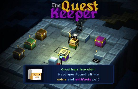 Verzamel schatten in het Crossy Road-achtige The Quest Keeper
