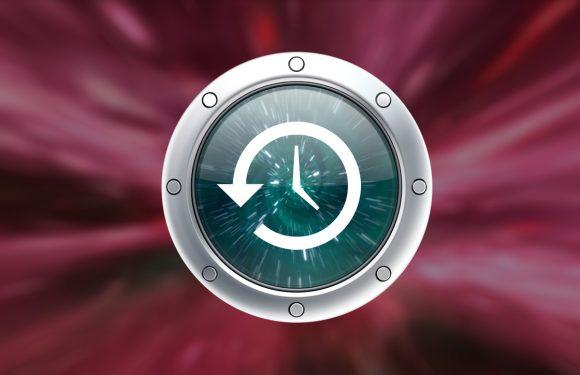 Zo maak je back-ups met Time Machine op de Mac