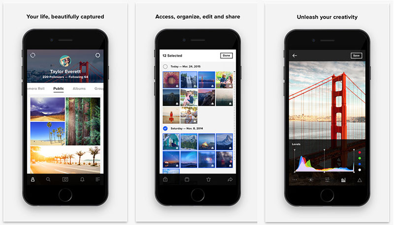 Flickr iOS-app