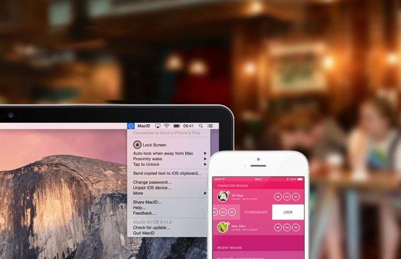 MacID ontgrendelt je Mac met de Apple Watch