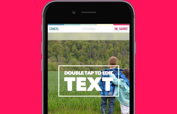 Typorama: nieuwe foto-app laat je iets unieks maken
