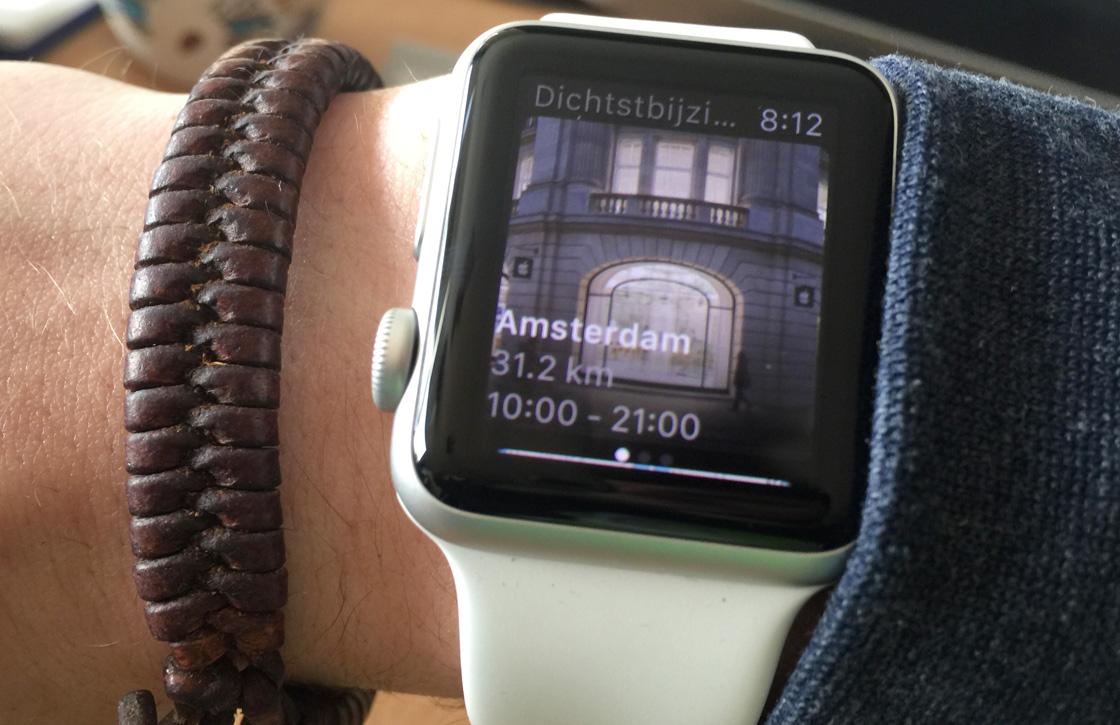 Er valt niets te shoppen met de Apple Store-app voor Apple Watch