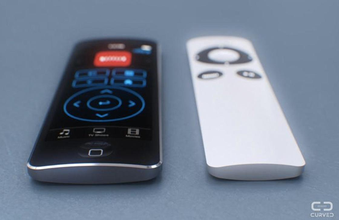 'Nieuwe Apple TV afstandsbediening krijgt touchpad'