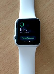 apple watch accu