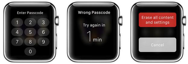 apple watch beveiliging